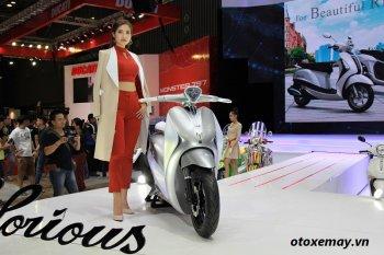 Yamaha GLORIOUS Concept đẹp nhất triển lãm xe máy Việt