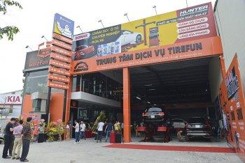 OTOFUN mở trung tâm dịch vụ lốp Tirefun 2 Long Biên