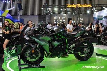 Soi chi tiết Kawasaki Ninja H2 Carbon sẽ được phân phối tại Việt Nam