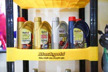 Nhãn hiệu dầu nhờn Blackgold chính thức xuất hiện tại Việt Nam