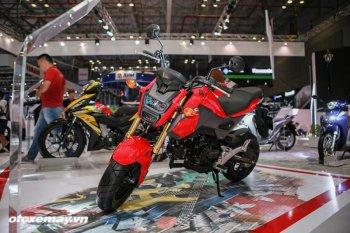 VMSC 2017: Cận cảnh từng chi tiết chiến binh Honda MSX 125cc mới
