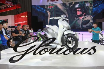 Đọc tên những xe Concept ấn tượng nhất triển lãm xe máy Việt