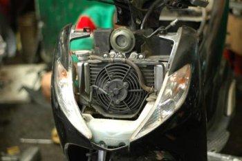 Bảo dưỡng xe máy vào mùa hè