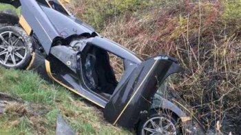 Siêu xe Koenigsegg Agera RS gặp nạn trước khi đến tay khách hàng