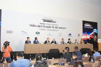 Triển lãm ôtô nhập khẩu VIMS 2017 đã có 7 hãng chính thức tham gia