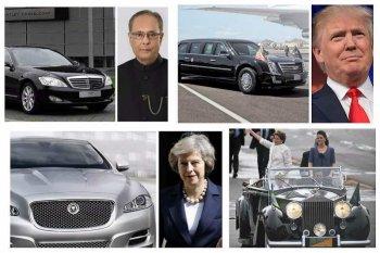 """""""Siêu xe"""" của các lãnh đạo quốc gia có gì đặc biệt?"""