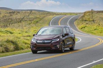 Xe gia đình Honda Odyssey 2018 lên kệ từ 30.890 USD