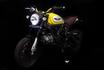 """Lifan Hunter 125 """"nhái"""" Ducati Scrambler, giá chỉ bằng 1/6"""
