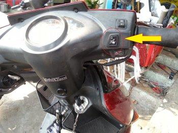 Độ nút bật yên xe máy tự động