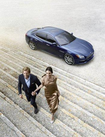 Những nhà trâm anh kín tiếng bước ra từ xe Maserati