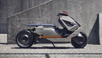 Xe ga điện siêu dị của BMW Motorrad