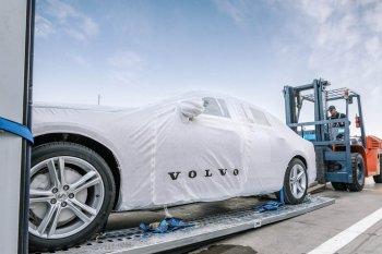 Volvo S90 lắp ráp tại Trung Quốc xuất đi toàn thế giới