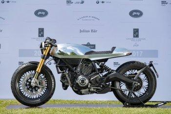Ducati tỏa sáng với 2 concept Scrambler tại Concours d'Eleganza