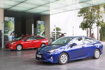 Trực tiếp lái Toyota đông cơ Hybrid ở Việt Nam