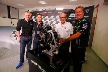 Thay thế Honda, Triumph  là nhà cung cấp động cơ chính thức cho Moto2