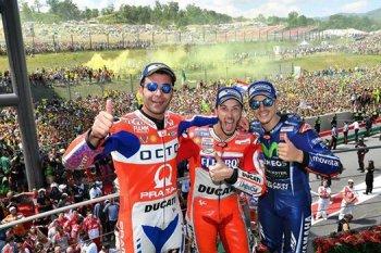 Chặng 6 MotoGP: chiến thắng ngọt ngào của Dovizioso