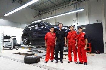"""Xe Audi tại Việt Nam được chuyên gia quốc tế """"thăm khám"""""""