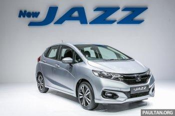 Honda Jazz 2017 tại Malaysia thêm biến thể Hybrid