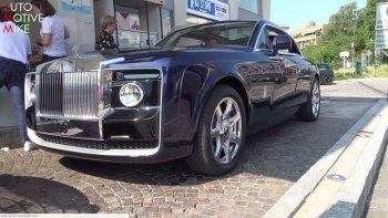 Bắt gặp Rolls-Royce Sweptail đi đổ xăng