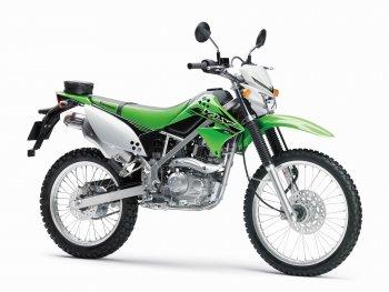 Môtô phượt Kawasaki KLX 2017 giá 49 triệu đồng tại Indonesia
