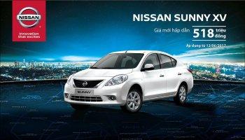 Nissan Sunny tiếp tục giảm giá 20 triệu đồng