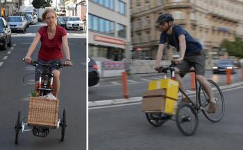 TReGo: Biến xe đạp thường thành xe chở hàng
