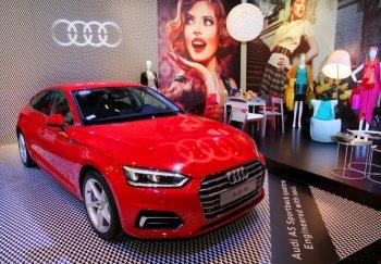Audi A5 Sportback trình diễn tại triển lãm Phong cách sống châu Âu