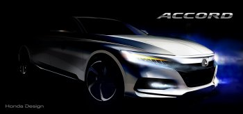 Honda Accord thế hệ mới lộ bản phác thảo trước ngày ra mắt