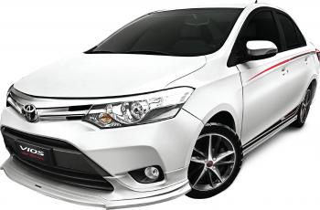 Toyota Vios TRD 2017 ra mắt đè Honda City 2017