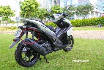 Yamaha Việt Nam thay thế miễn phí giảm xóc sau cho NVX