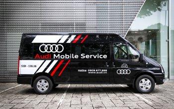 Audi Việt Nam ra mắt dịch vụ sửa xe sang lưu động