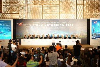 Vietnam Motorshow 2017: 12 hãng xe trưng bày gần 70 mẫu xe
