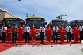 Toyota tặng dân Đà Nẵng hệ thống xe bus miễn phí