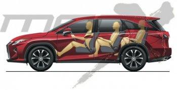 Lexus RX phiên bản 7 chỗ sắp được ra mắt ?