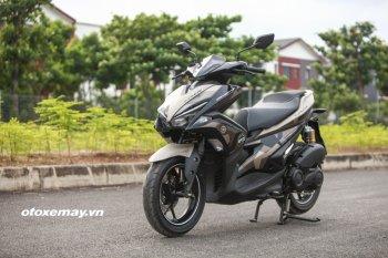 Cận cảnh phiên bản giới hạn  Yamaha NVX 155 Camo