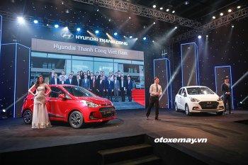 Hyundai Thành Công ra mắt Grand i10 2017 lắp ráp tại Việt Nam