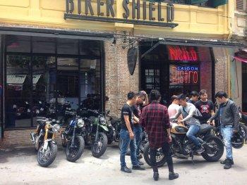 Sân chơi mới Biker Shield Bistro cho người yêu xe giữa Sài Gòn