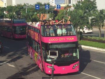 Xe Bus 2 tầng chính thức chở khách du lịch ở Đà Nẵng