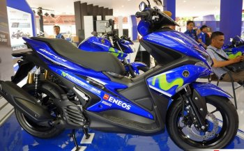 Ra mắt Yamaha NVX 155 phiên bản Movistar giá 41,5 triệu