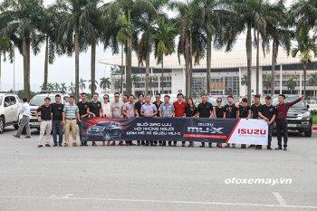 Người sử dụng xe Isuzu Mu-X tại Hà Nội có buổi offline đầu tiên