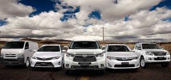 """Toyota """"thống trị"""" 49 quốc gia trên thế giới"""