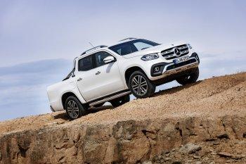Bán tải Mercedes-Benz X-Class chính thức ra mắt, giá từ 37 nghìn Euro