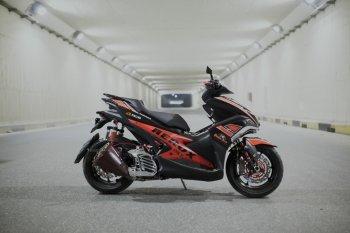 Yamaha NVX 155 lên pô Z1000 cực chất