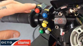 Tìm hiểu công dụng của các nút bấm trên xe MotoGP