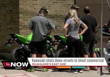 Rò rỉ hình ảnh Kawasaki Ninja 400 mới khi quay quảng cáo ở Mỹ