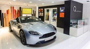 """Mục sở thị trung tâm """"hàng thửa"""" Aston Martin"""