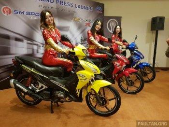 SYM tung SM Sport 110R 2017 bắt mắt hơn Honda Wave RSX