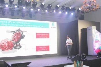 Dầu nhớt Petronas cho xe máy ra mắt thị trường Việt