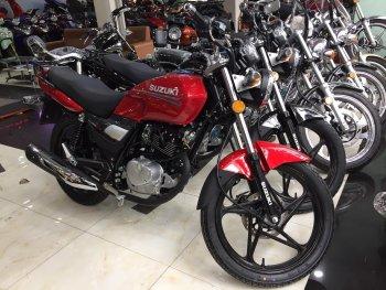 Mẫu côn tay giá rẻ Suzuki HJ125 về Việt Nam