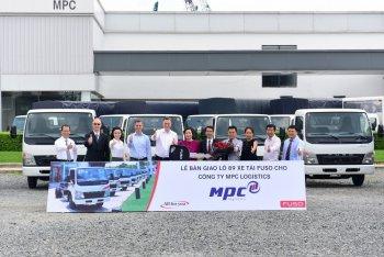 FUSO lập kỷ lục bàn giao 89 xe tải ở Việt Nam